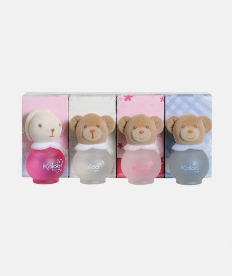 Set parfum pentru bebelusi, Kaloo, 8 ml, 4 sticle
