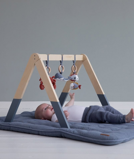 Centru de activitati Baby Gym - Ocean Blue - Little Dutch