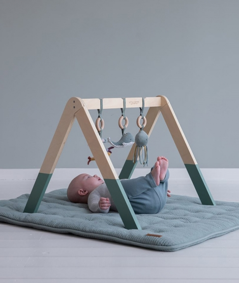 Centru de activitati Baby Gym - Ocean Mint - Little Dutch