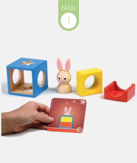 Joc iepurasul Bunny Boo, Smart Games, 60 provocari, 2-99 ani