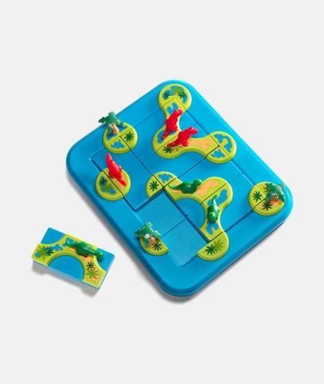 Puzzle 3D Dinosaurs, Insula Mistica, Smart Games, 80 provocari