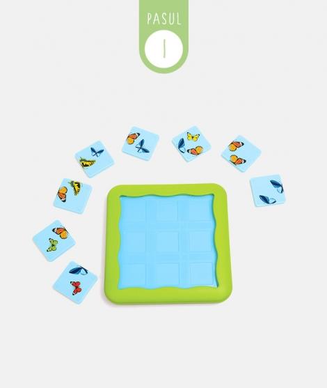 Joc de logica Butterflies, Smart Games, puzzle, 6 ani +