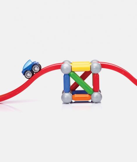 Joc magnetic SmartMax, Basic Stunt, set vehicule Play
