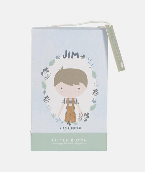 Papusa din plus, Little Dutch, Jim, 50 cm
