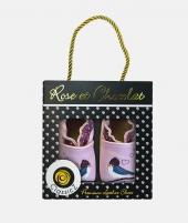 Botosei din piele, Rose et Chocolat, Love Bird, mov - ElcoKids
