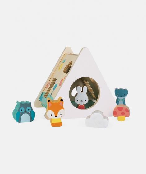 Cutie pentru sortat forme, Janod, din lemn