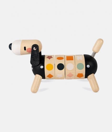 Jucarie de sortat, Janod, forme si culori, din lemn