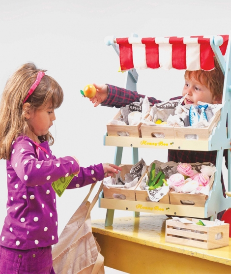 Magazin din lemn, Le Toy Van, Honeybee, 3 ani+