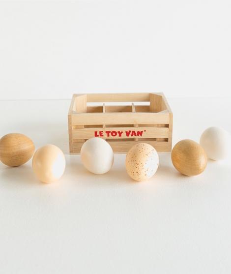 Ladita cu oua, Le Toy Van, din lemn, 2 ani+