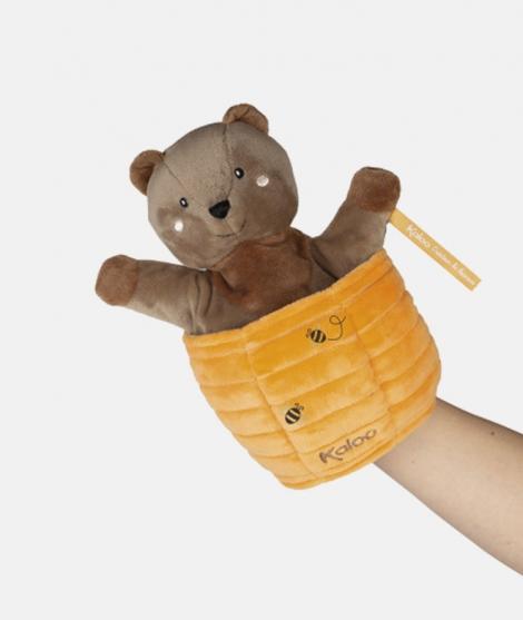 Marioneta ursulet, Kaloo, Ted, 25 cm