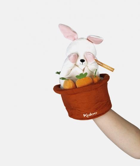 Marioneta iepuras, Kaloo, Robin, 25 cm