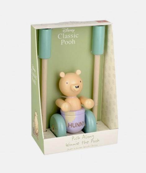 Jucarie de impins, Orage Tree Toys, Winnie the Pooh, clasic