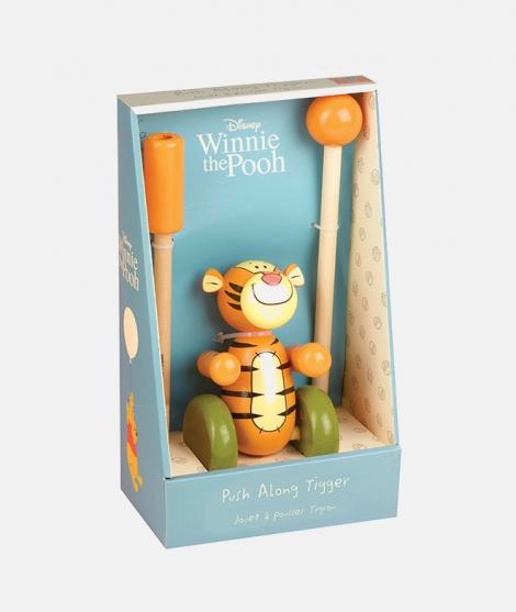 Jucarie de impins, Orage Tree Toys, tigru, din lemn