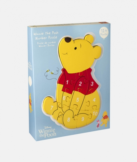 Puzzle numeric, Orange Tree Toys, Winnie the Pooh, 12 luni+