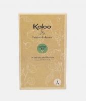 Jucarie doudou, Kaloo, iepuras, din bumbac bio, gri, 20 cm - ElcoKids