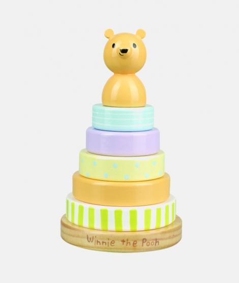 Joc de stivuit inele, Orange Tree Toys, Winnie the Pooh, clasic