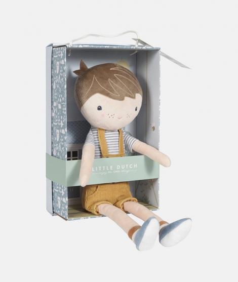 Papusa din plus, Little Dutch, Jim, 35 cm
