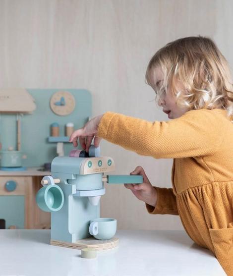 Expresor de cafea, Little Dutch, Adventure, din lemn