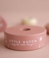 Jucarie de stivuit, Little Dutch, Wild Flowers, din lemn - ElcoKids