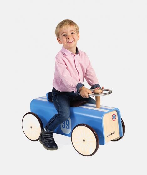 Masinuta din lemn, Janod, Ride-On, 2 ani+