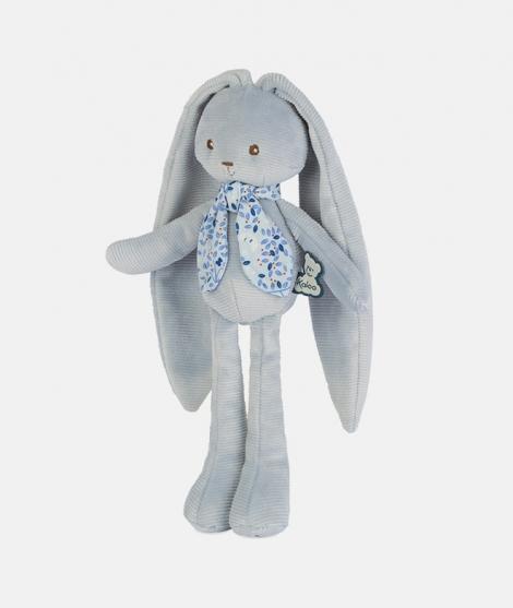 Iepuras Lapinoo, Kaloo, albastru, 25 cm