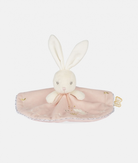 Jucarie doudou, Kaloo, Perle, iepuras, roz, 20 cm