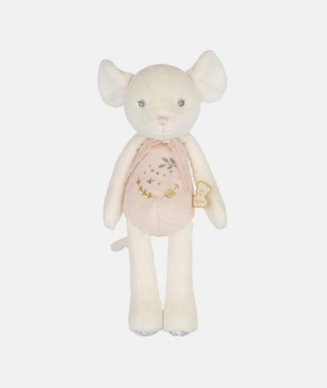 Jucarie de plus, Kaloo, Perle, soricel, roz, 25 cm