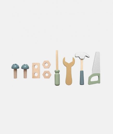 Curea port scule, JaBaDaBaDo, cu unelte din lemn, 3 ani+