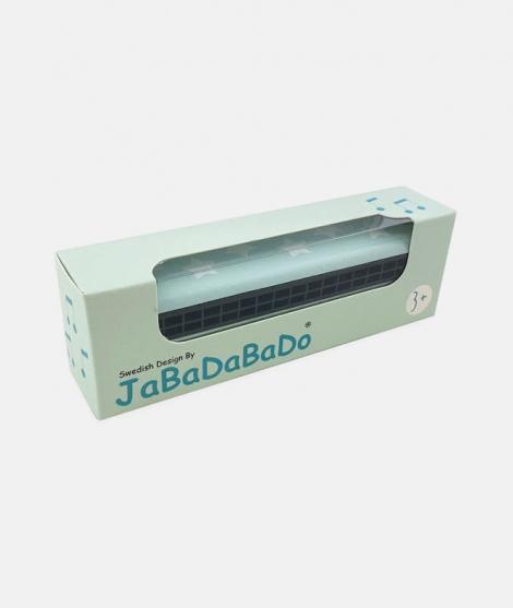 Muzicuta din lemn, JaBaDaBaDo, albastra, 13 cm