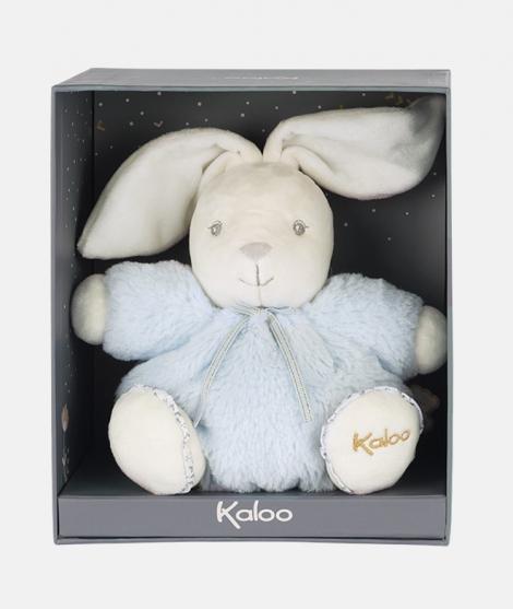 Jucarie de plus, Kaloo, Perle, iepuras albastru, 18 cm