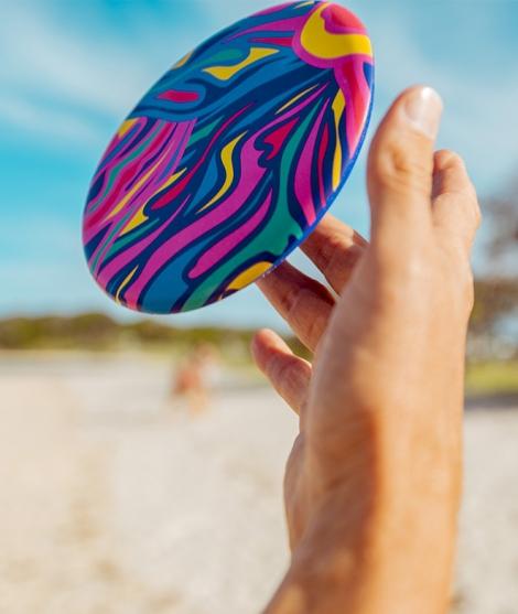 Frisbee Waboba, Rainbow, 20 cm