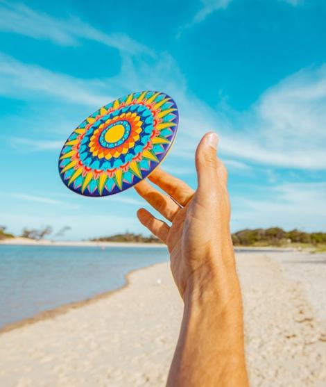 Frisbee Waboba, Color Wheel, 20 cm