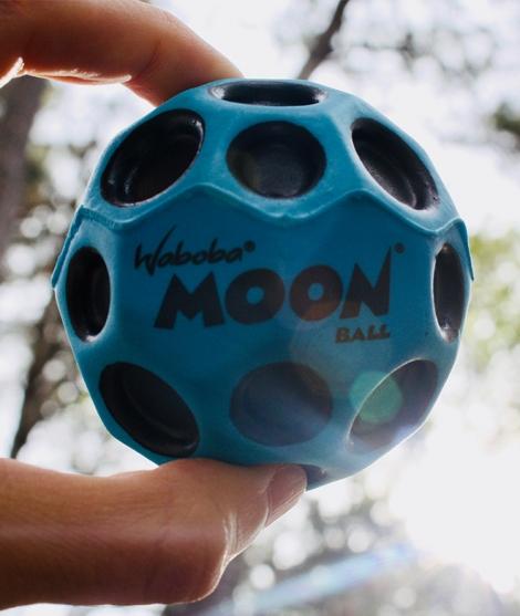 Minge pentru joaca Waboba Moon 63 mm Albastra