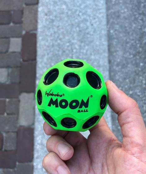 Minge pentru joaca Waboba Moon 63 mm Verde