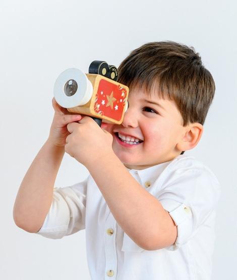 Camera de filmat, Le Toy Van, din lemn, 3 ani+